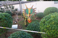 Water Proof Fiberglass Large Dragon Sculptures With 2 Years After Sales Service