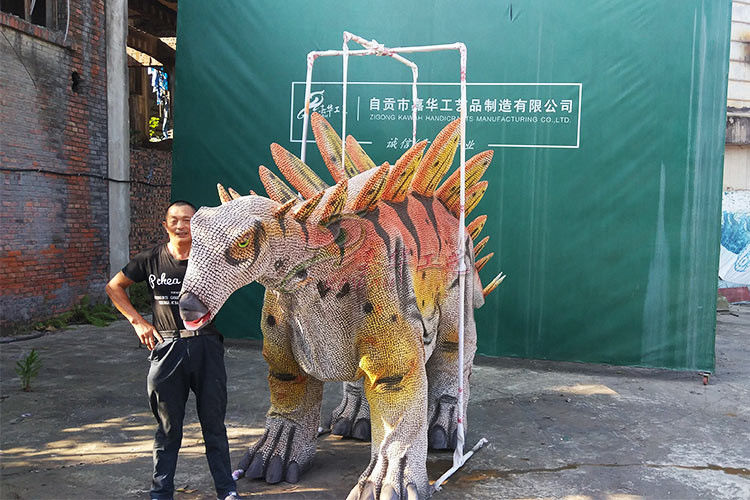 Manual Operation Dinosaur Costume Adults Realistic With Wear Resistance