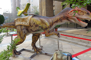 دایناسور ضد آب Animatronic Ride، World Jurassic Monolophosaurus Dinosaur Ride